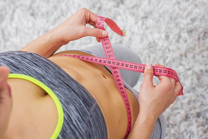 Slim Healthy Fitness Waist Measuring