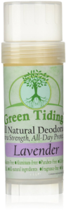 Green Tidings Organic All Natural Deodorant
