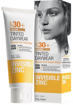 Invisible Zinc Tinted Daywear (Medium) SPF 30+
