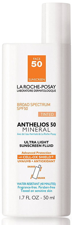 La RochePosay Anthelios 50 Mineral Sunscreen for Face