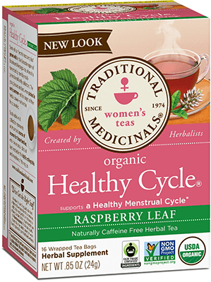 Healthy Cycle Tea by Traditional Medicinals