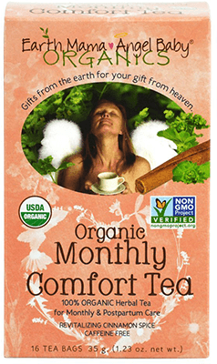 Organic Monthly Comfort Tea by Earth Mama Angel Baby